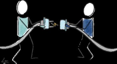 Illustration des outils en présence